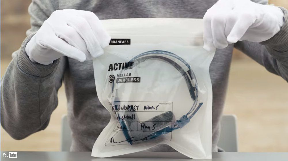Urbanears 為善事出汗 超變態汗水耳筒 ACTIVE Hellas 密封收藏