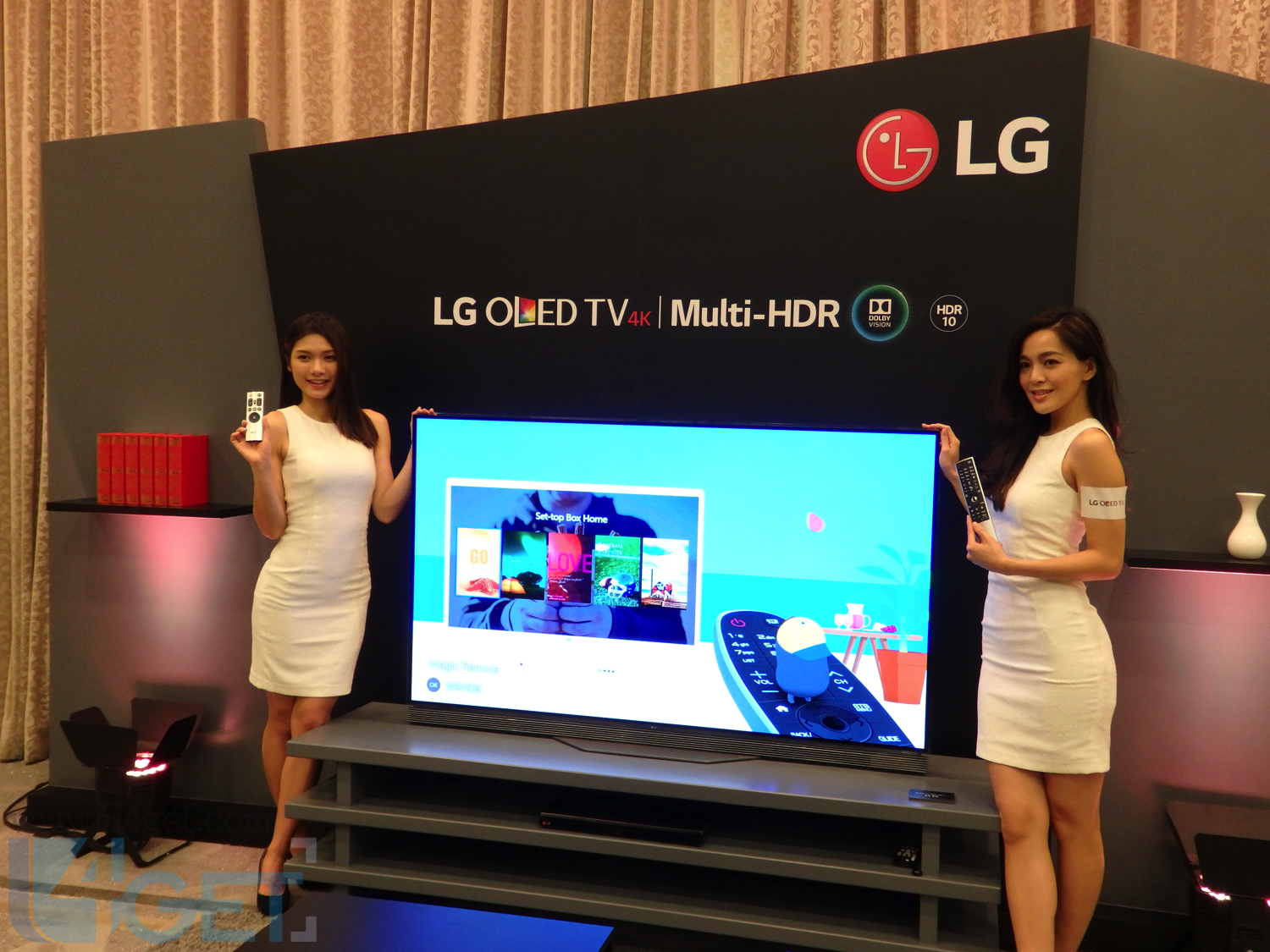 LG HDR 4K TV 現身 支援 HDR 10 / Dolby Vision 兩制式