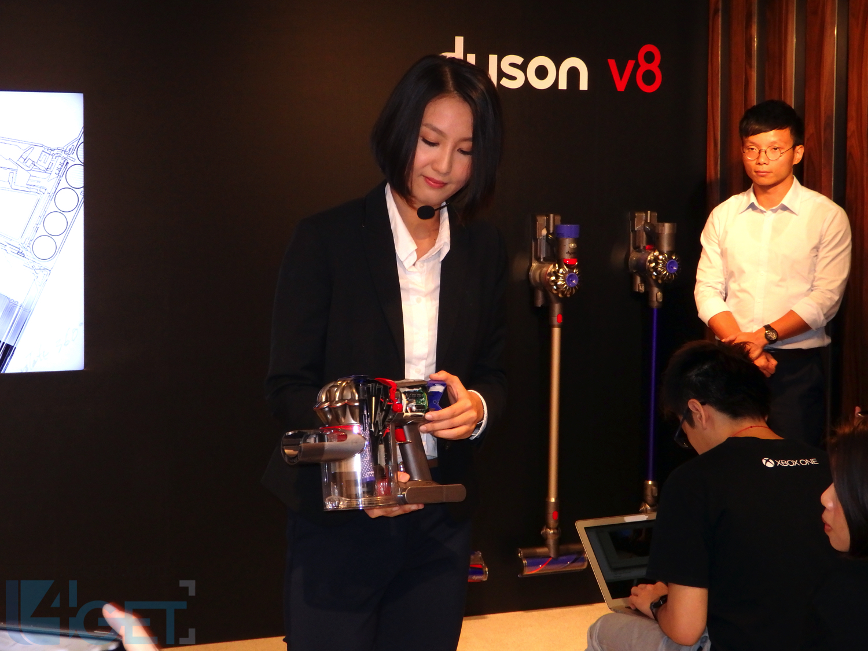 Dyson V8 強化 110,000 萬轉靜 50%  吸塵都要講型格