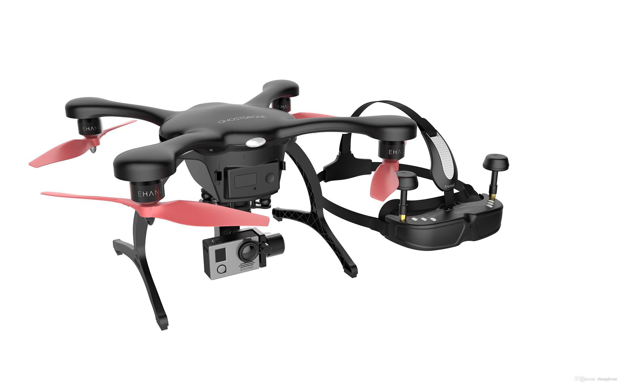 傻瓜航拍機 新手都識飛 Ehang Ghostdrone 2.0