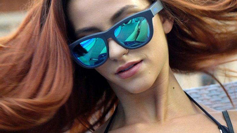 太陽眼鏡 + 骨傳導  無耳筒照聽歌