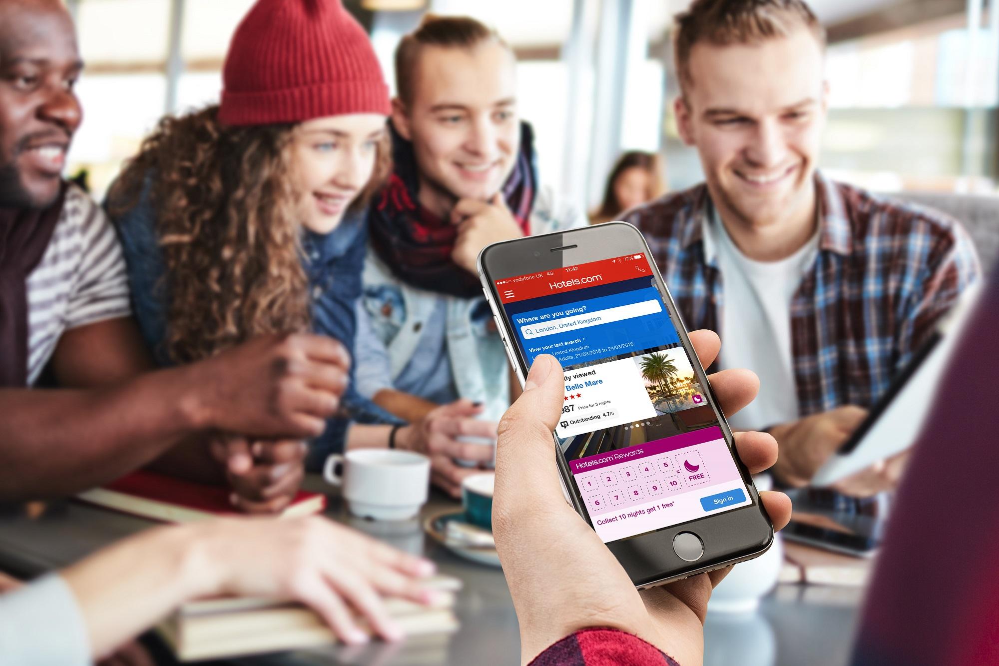 手機平板用 Hotels.com 訂酒店  即有 92 折優惠