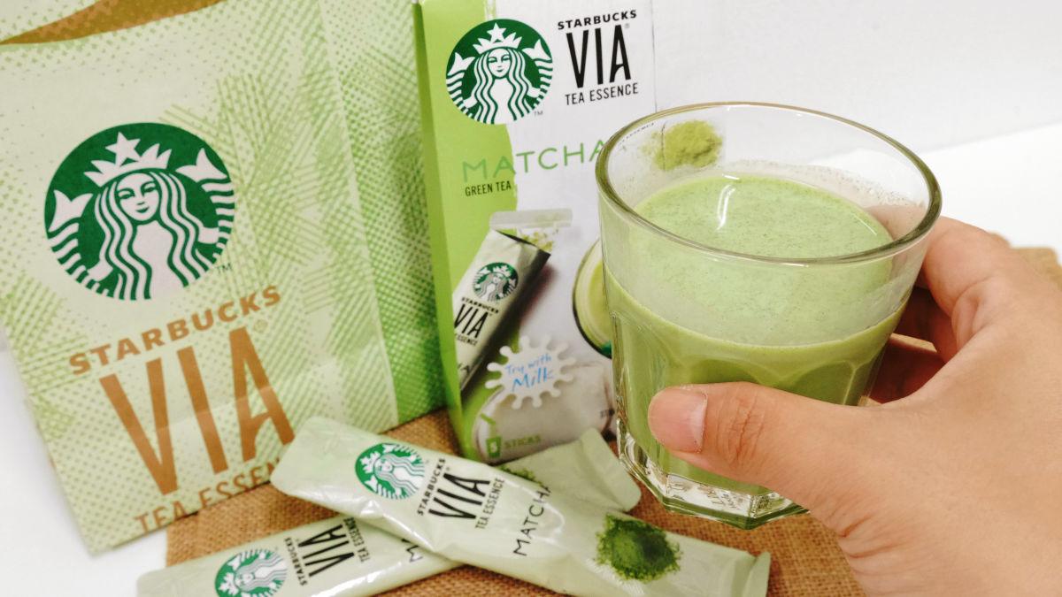 手信佳品!日本 Starbucks 推自沖綠茶 Latte