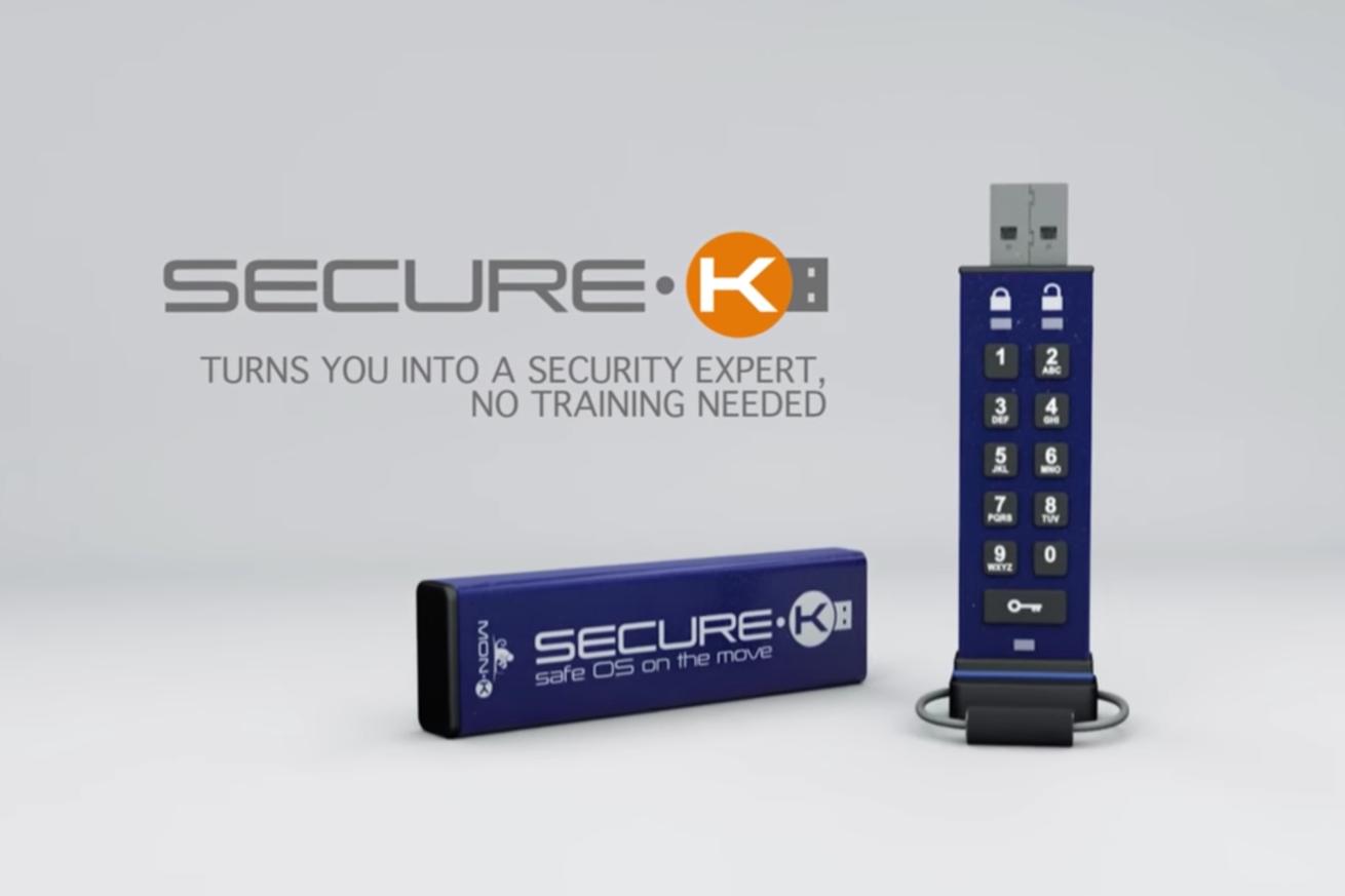 實體數字鍵解鎖 Secure-K 保障資料免外洩