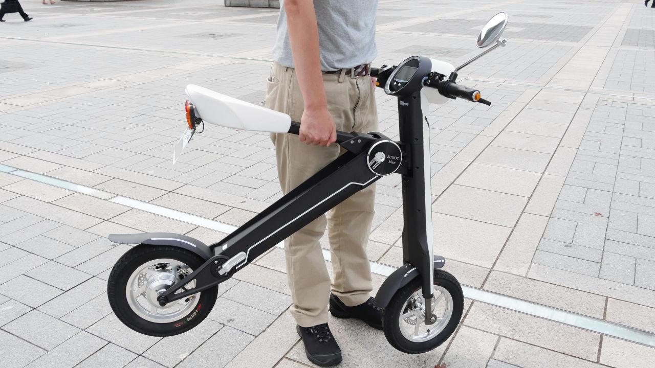 攞正牌玩「 電動單車 」?可摺合電單車 ScootMan