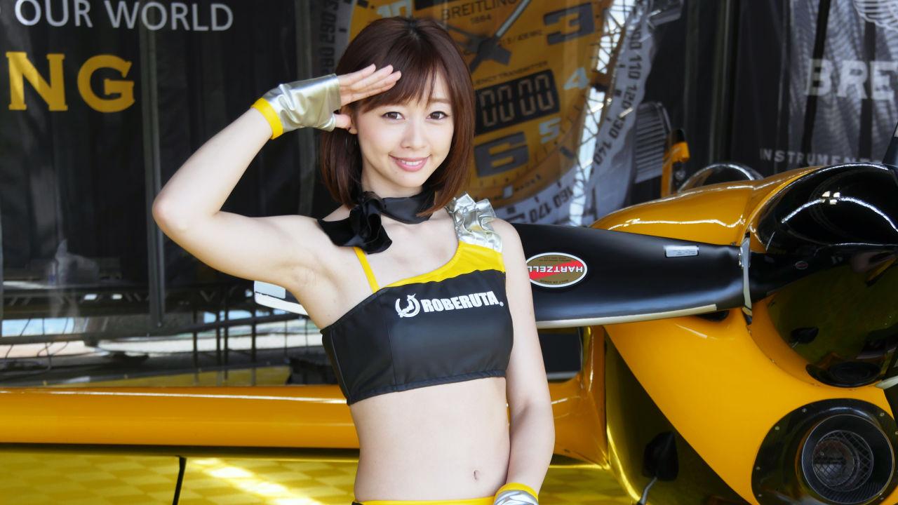 RED BULL AIR RACE CHIBA 2016 日本站 睇機之餘仲有機模