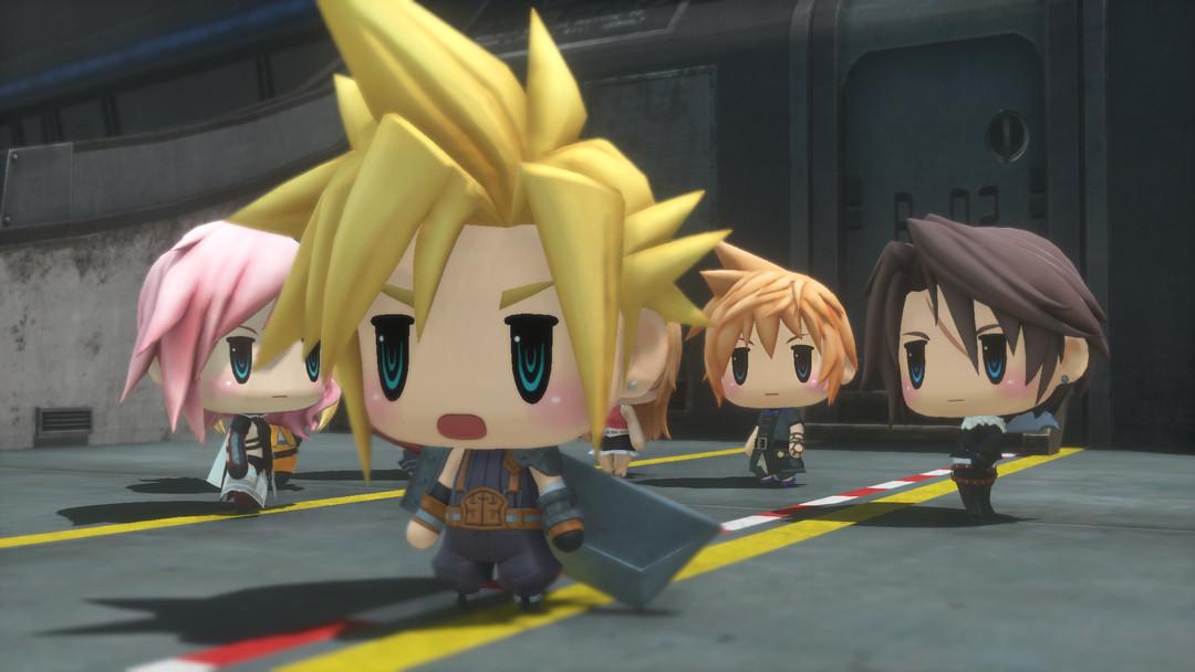 Q 版 FF 《 World of Final Fantasy 》新 Trailer 快過 E3 有得睇