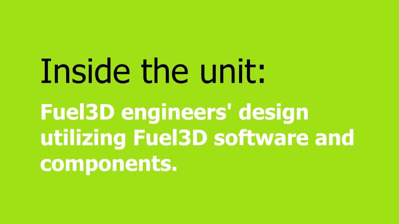 瞬間掃腳板 Fuel3D 掃描機極速製矯墊