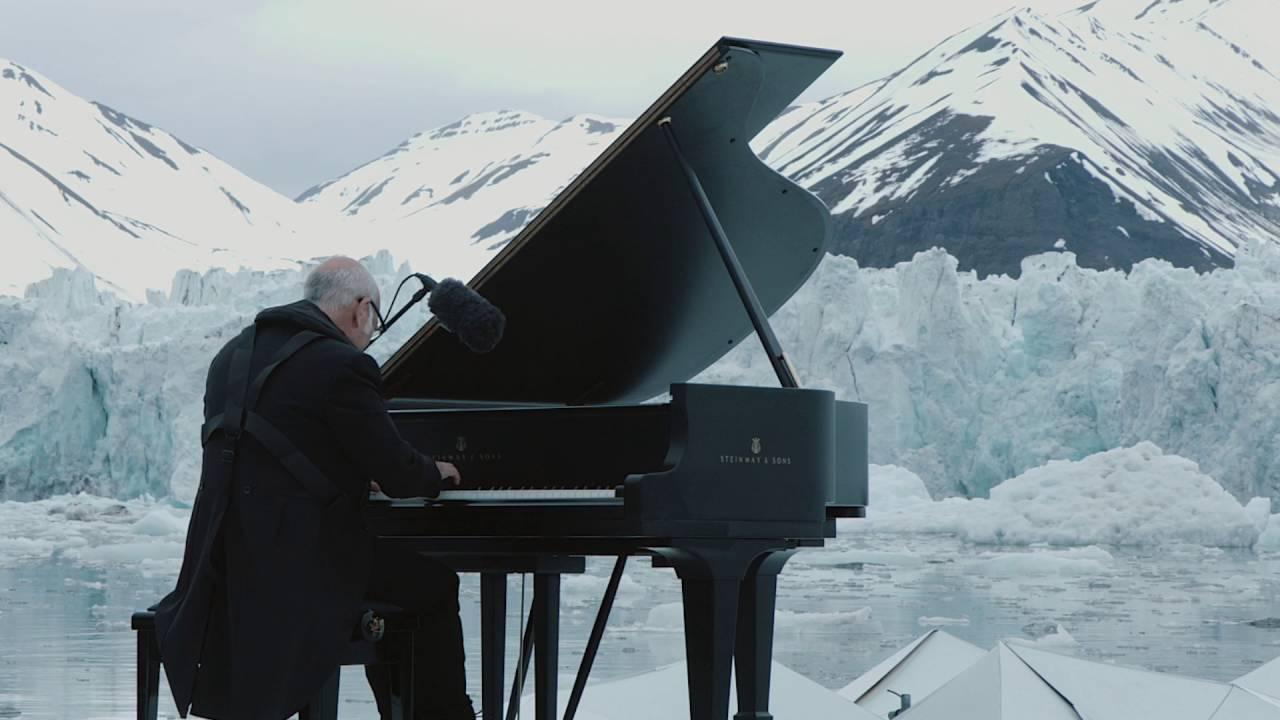 喚醒人類救北極 意大利鋼琴家北極獨奏 Elegy For The Arctic