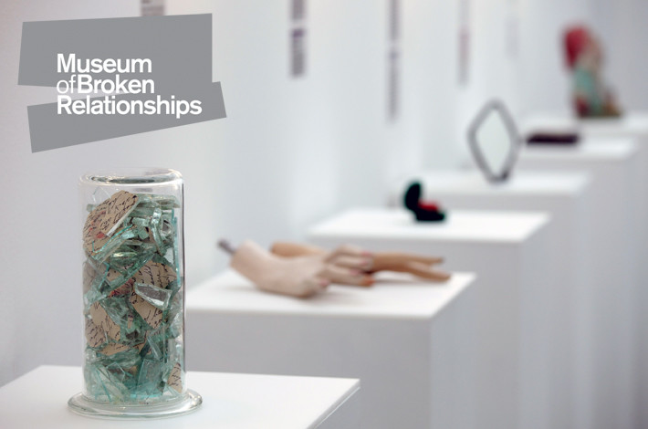 失戀都有博物館 「 失戀博物館 」內衣婚紗全成展品