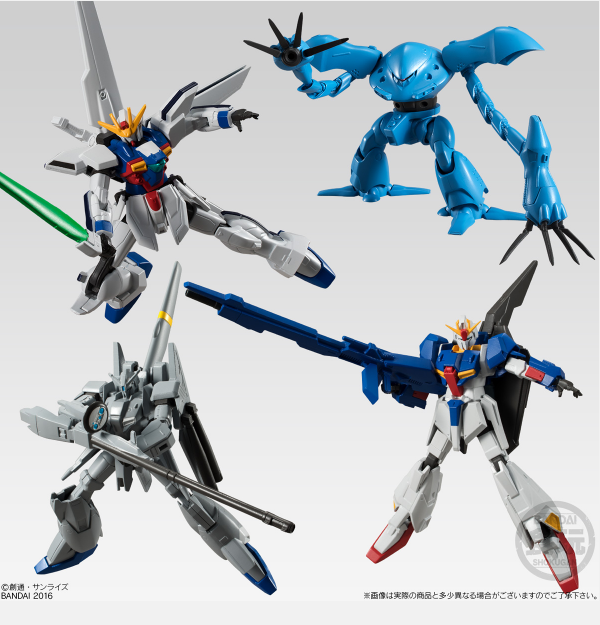 Gundam UN 系食玩推第二彈 Z Gundam / Gundam X 參上