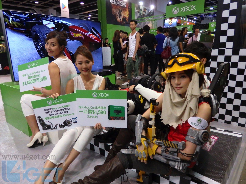 〔動漫節 2016〕 Xbox 全民電競派對 頭十名買機送 $8,650 禮物