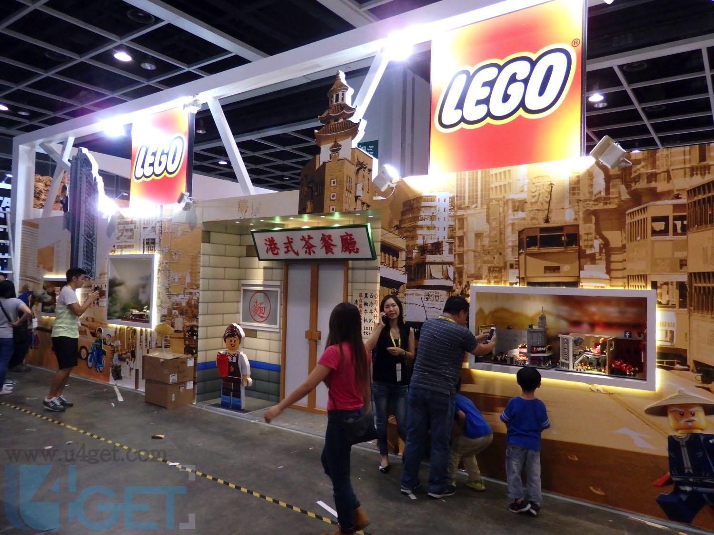 〔動漫節 2016〕 LEGO 動漫節玩懷舊 100 萬粒砌出舊香港