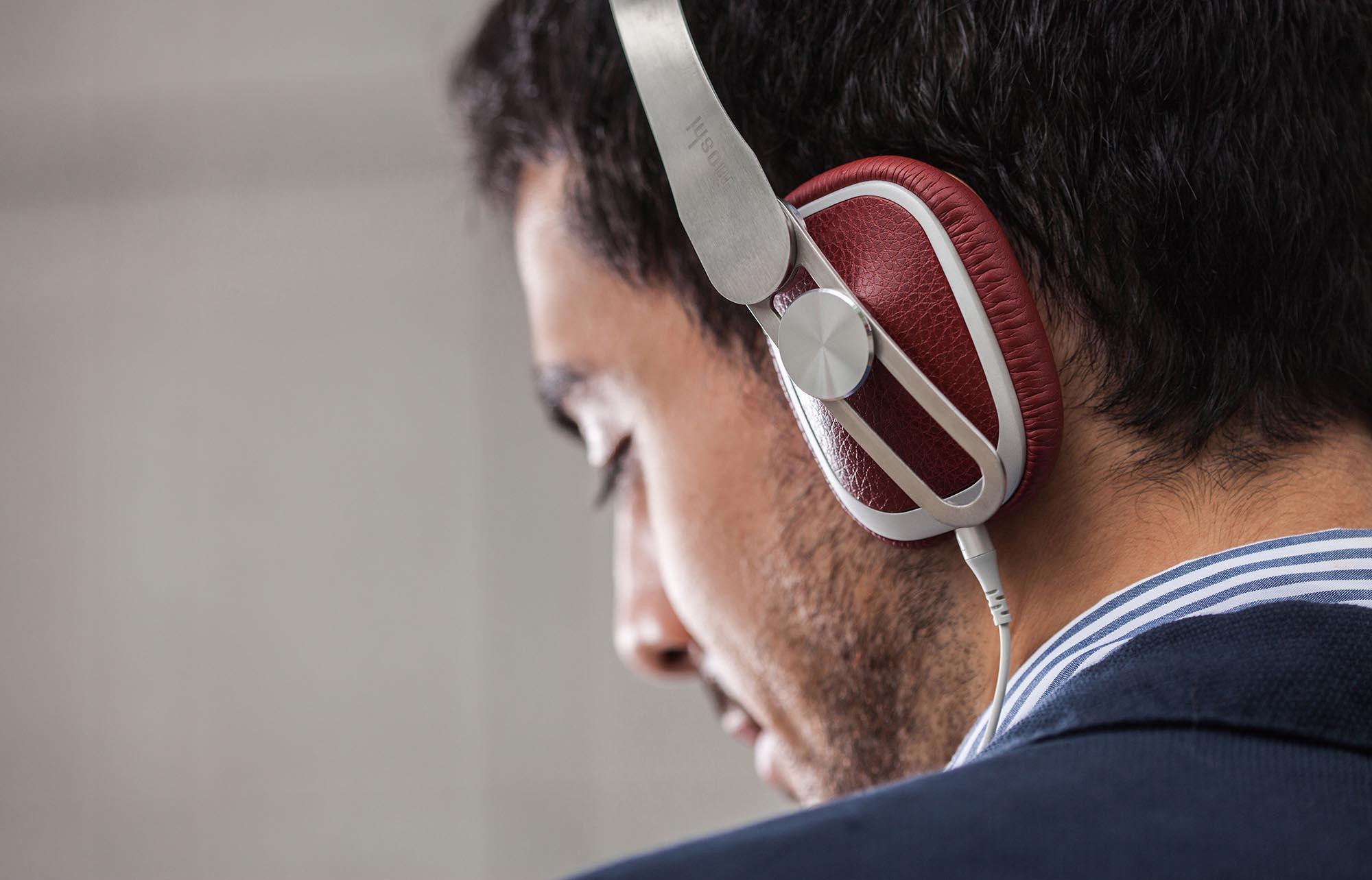 人體工學配復古潮款 Moshi Avanti 耳機到港