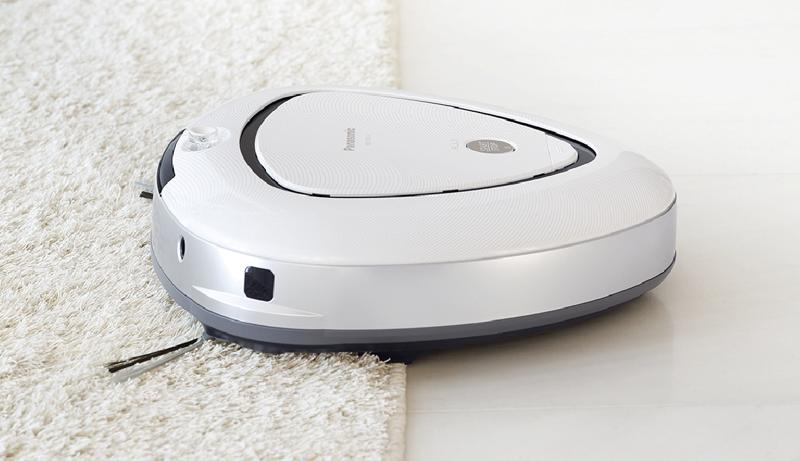 三角形吸塵機器人 Panasonic 推出吸塵 ROBOT MC-RS1A