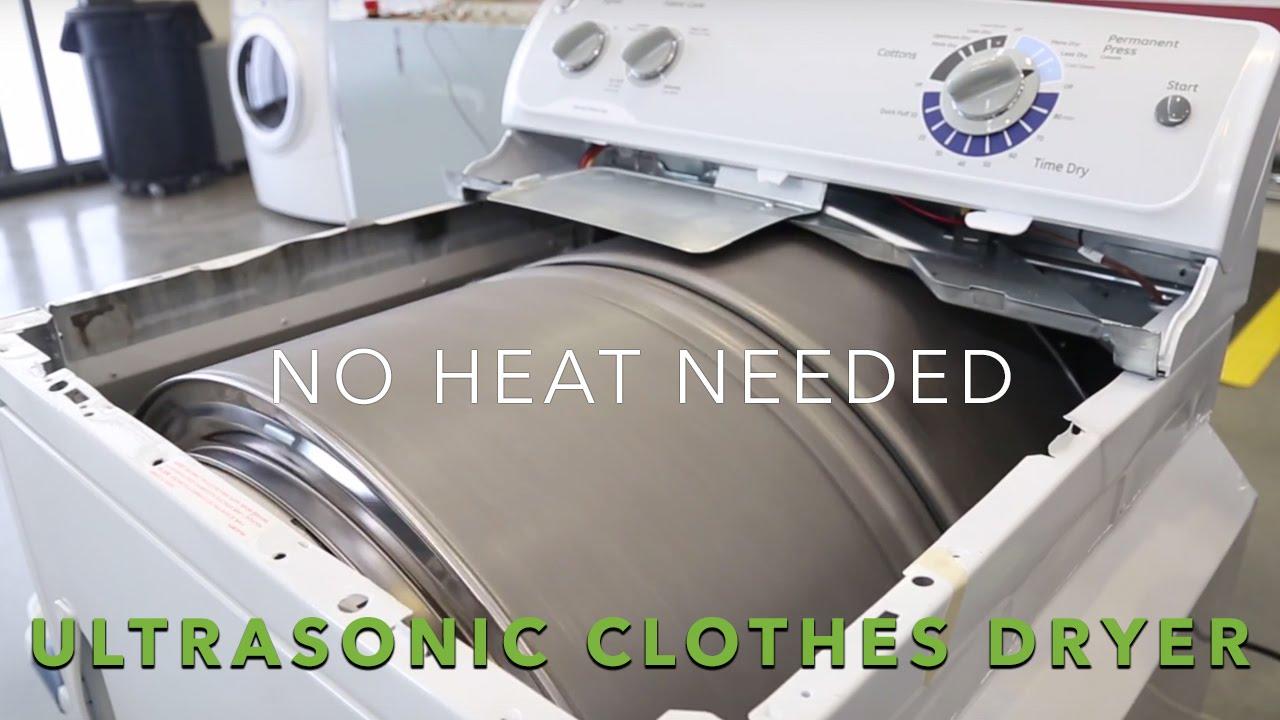 14 秒即可洗衫兼脫水! 「 超聲波洗衣機 」效能更高更快