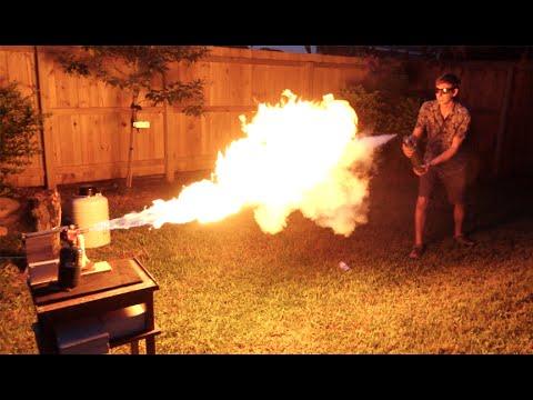 為消暑去到幾盡? 自製液態氮噴射槍亂射