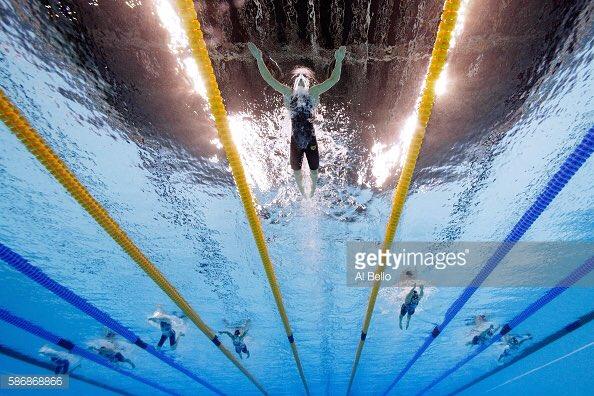 水中拍出非一般游泳比賽 全新 360 cam 拍巴西奧運