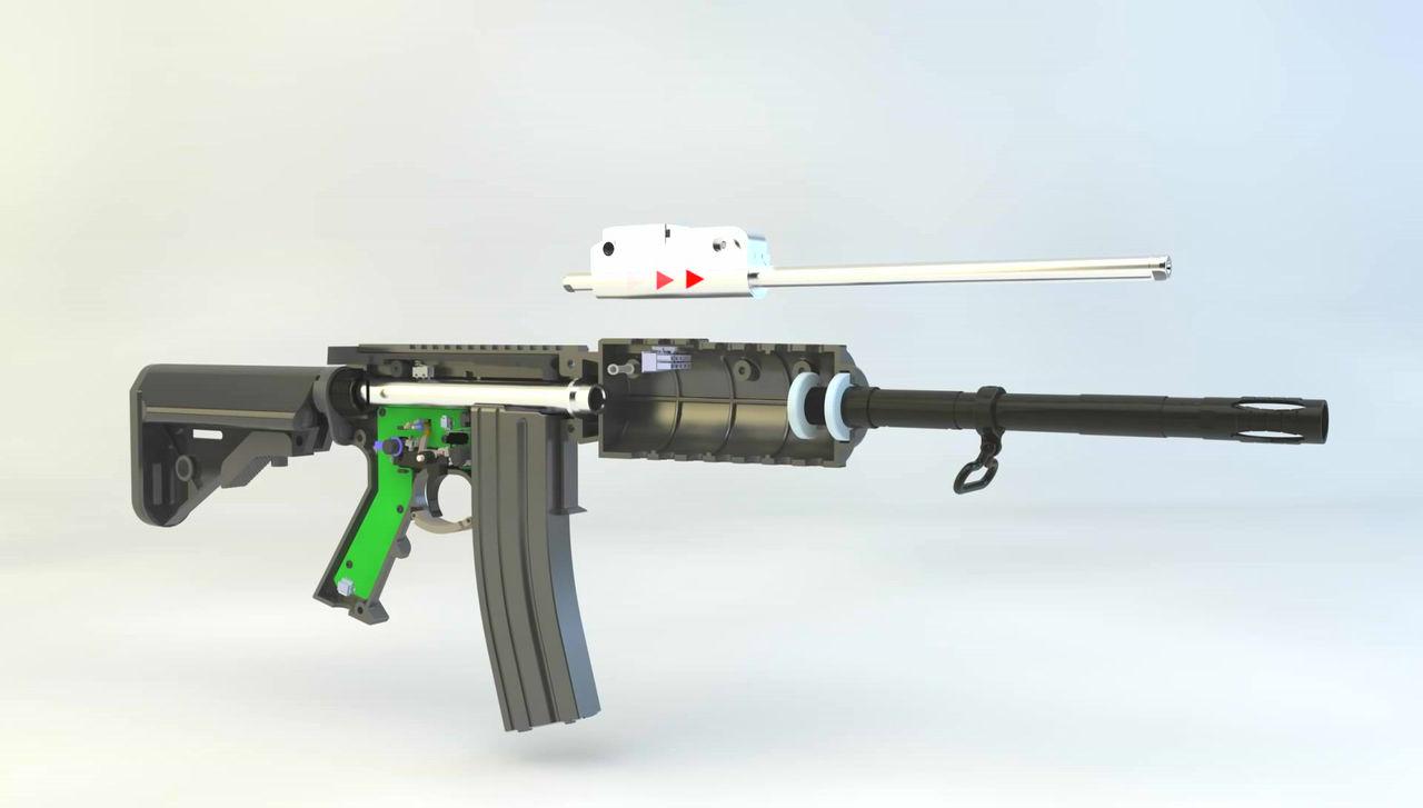 PlayStatio VR 射槍好吸引? Haptic VR Gun 更有真實感!