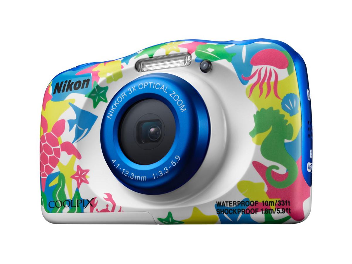 轉玩顏色兼四防 Nikon 發布 COOLPIX W100