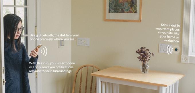 真正的智能生活 藍牙連接手機小 dot 控制家居產品