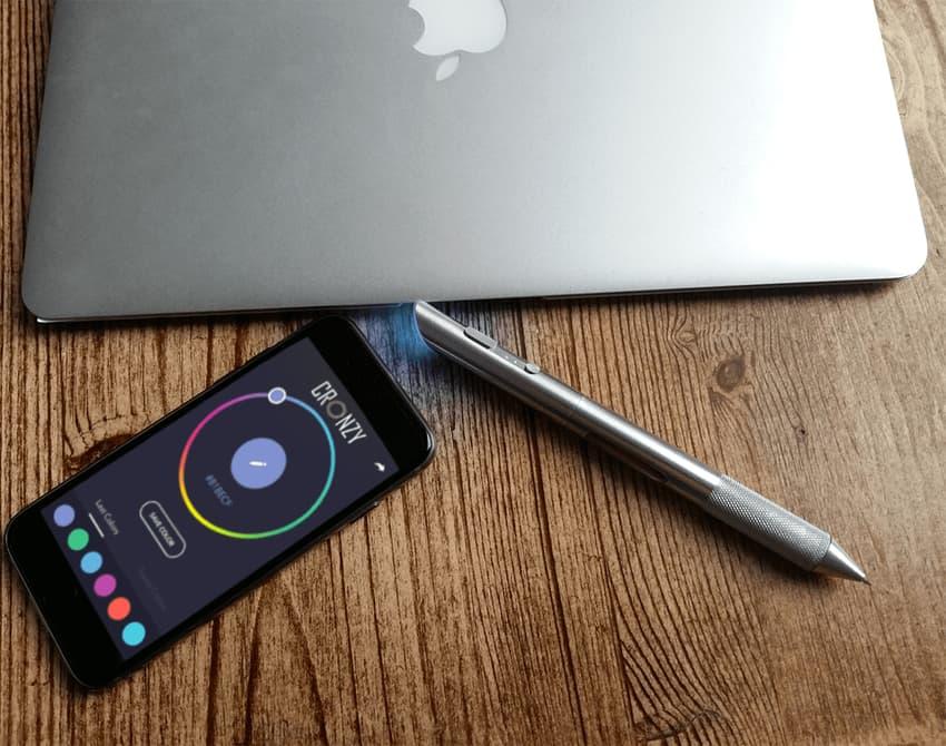 一枝筆可調 1600 萬色 Cronzy Pen 畫畫必備