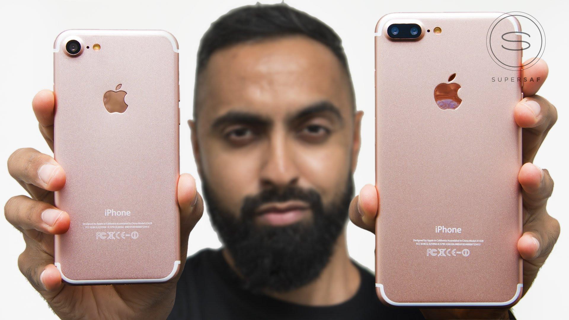 當 iPhone 7 / iPhone 7 Plus 走在一起 你會感動嗎?