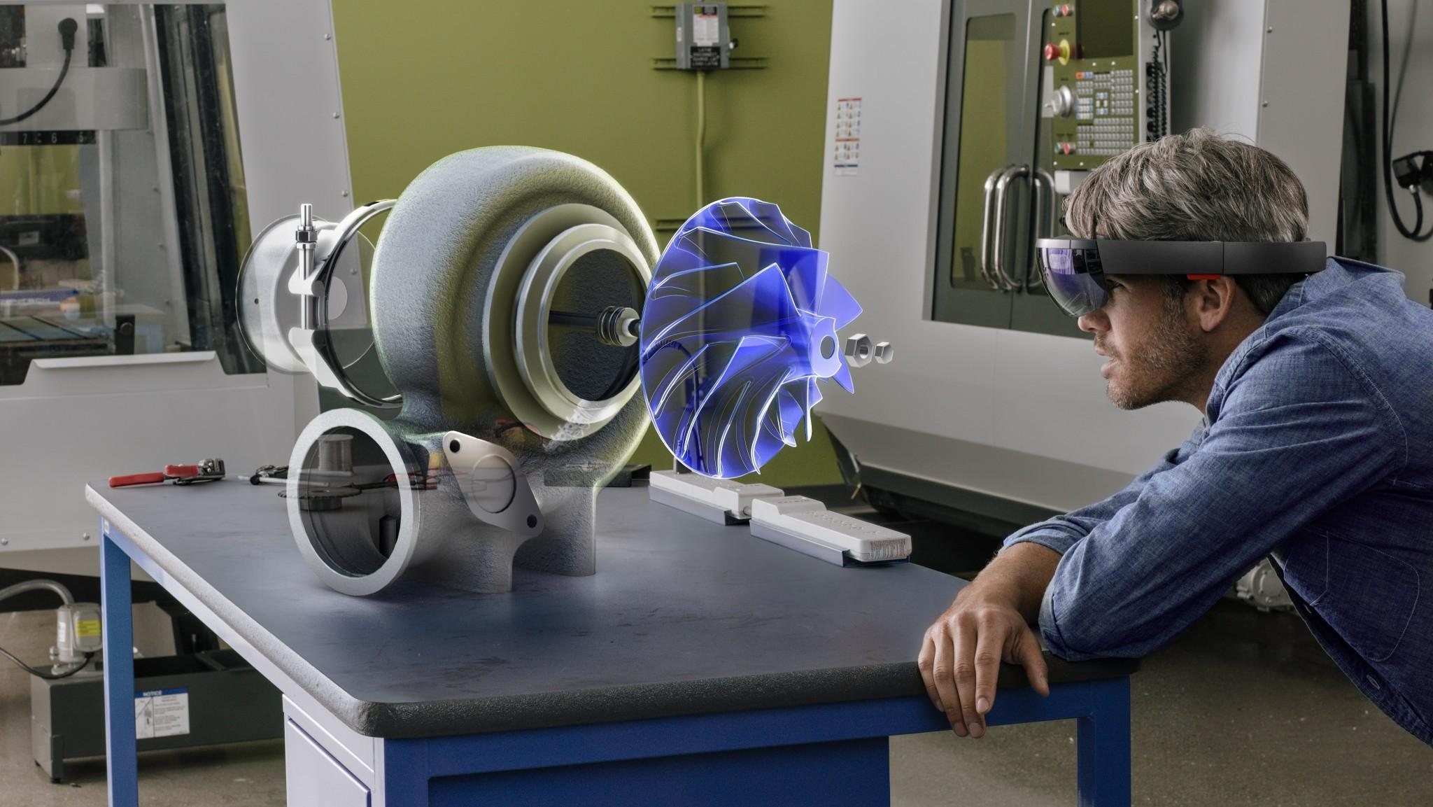 Microsoft 出售開發者版本  HoloLens 美加任買