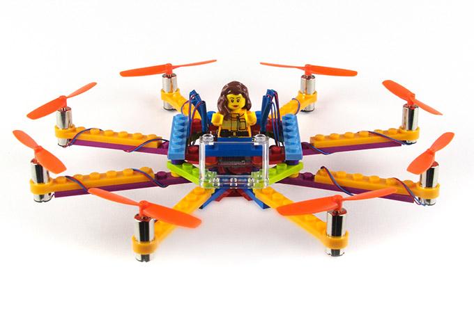 LEGO 無人機 任撞唔爛只會撞散