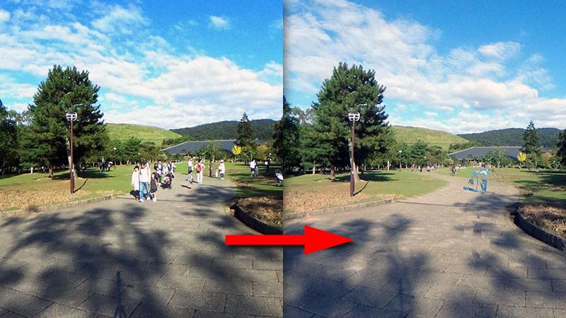 〔App 教學〕影 360 相自動刪走途人   Ricoh 推新 app VANISH360