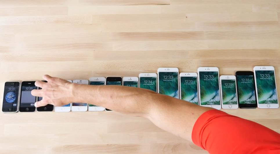 歷代 iPhone 速度比較 順便睇埋 iPhone 變化