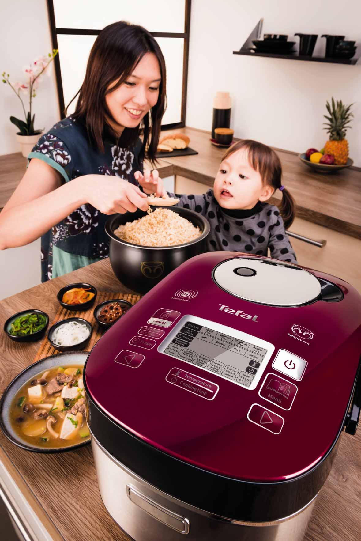 特福 IH 磁應球釜電飯煲 入門價嘆高質素米飯
