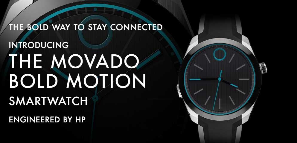 HP X Movado 半智能手錶現身