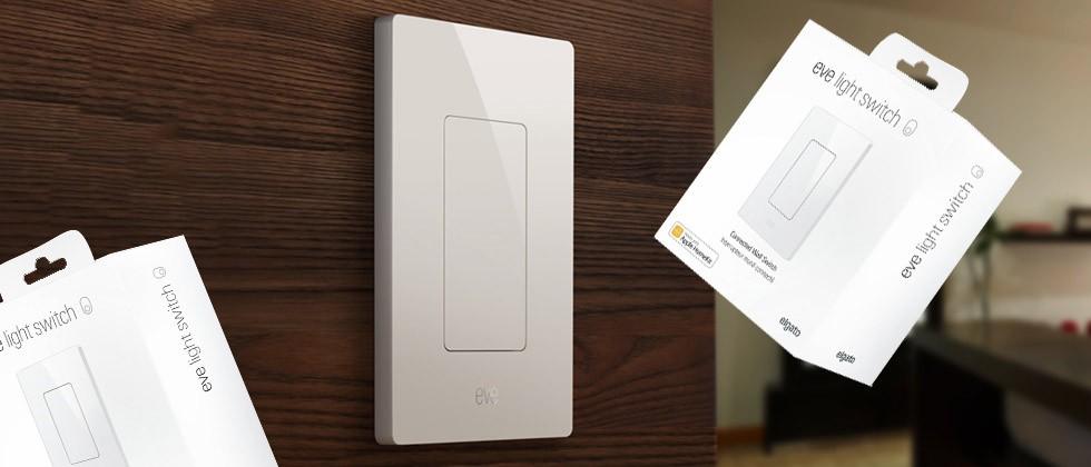 想玩 HomeKit 控制燈光? Eve Light Switch  智能燈掣