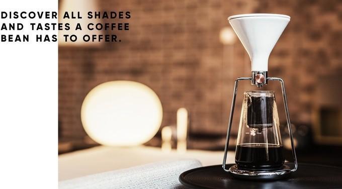 享受慢浸咖啡樂趣 智能咖啡機 Gina