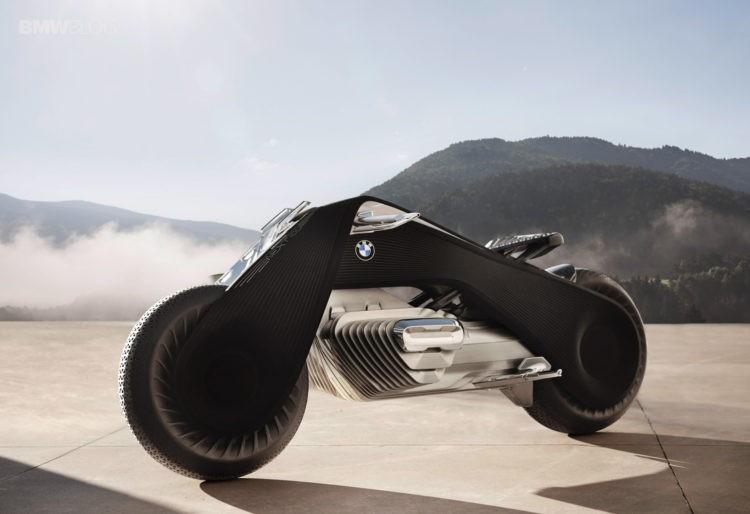 BMW 慶祝百周年推概念電單車 Motorrad Vision Next 100 要威不用戴頭盔