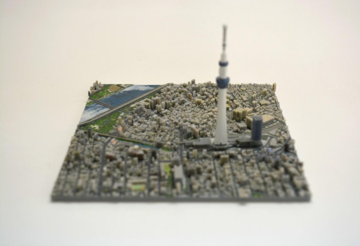 $663 有塊地? 日本 3D 打印東京市