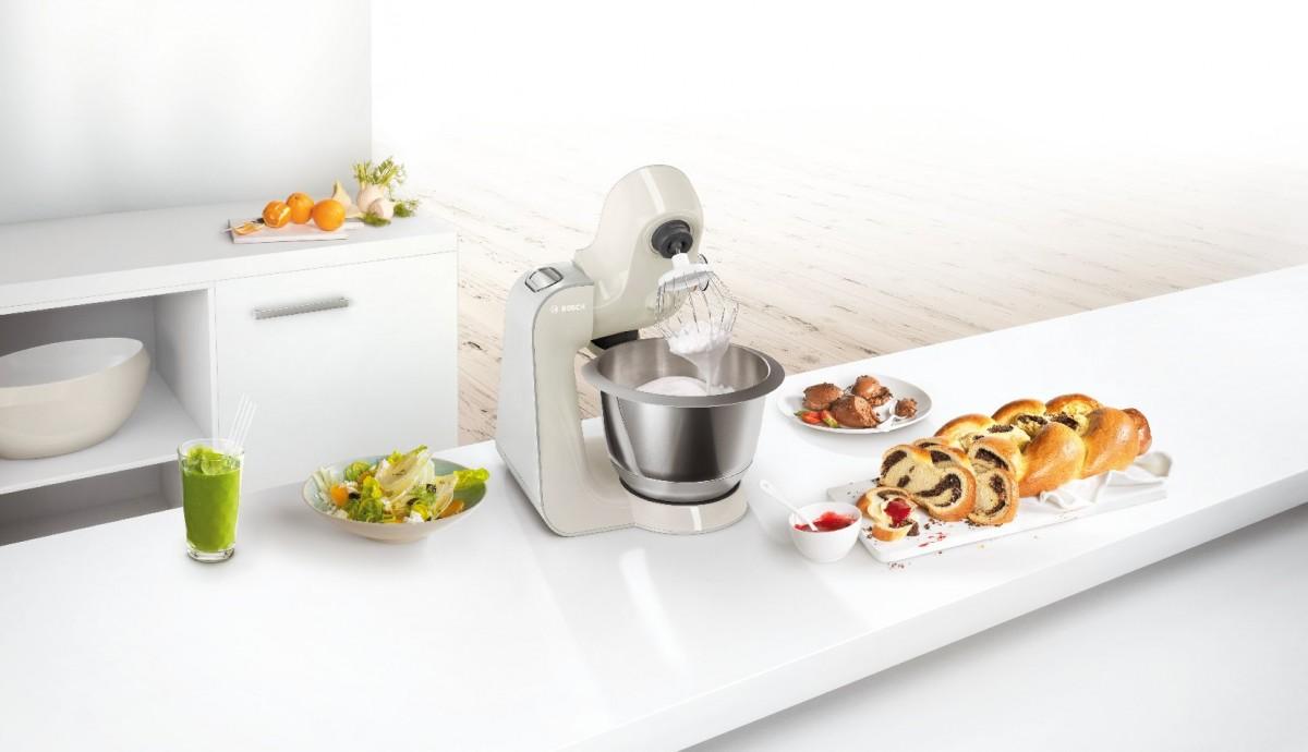 Bosch 新色專業廚師機 聖誕派對好幫手