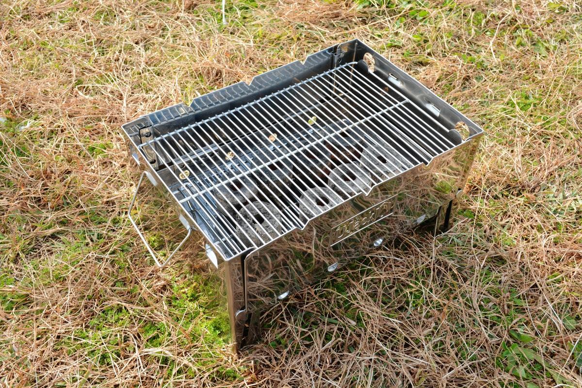 小型流動燒烤爐 UJack   露營友最適合