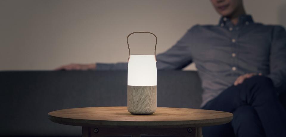 睇得又聽得   Samsung 智能藍牙 LED 音響燈
