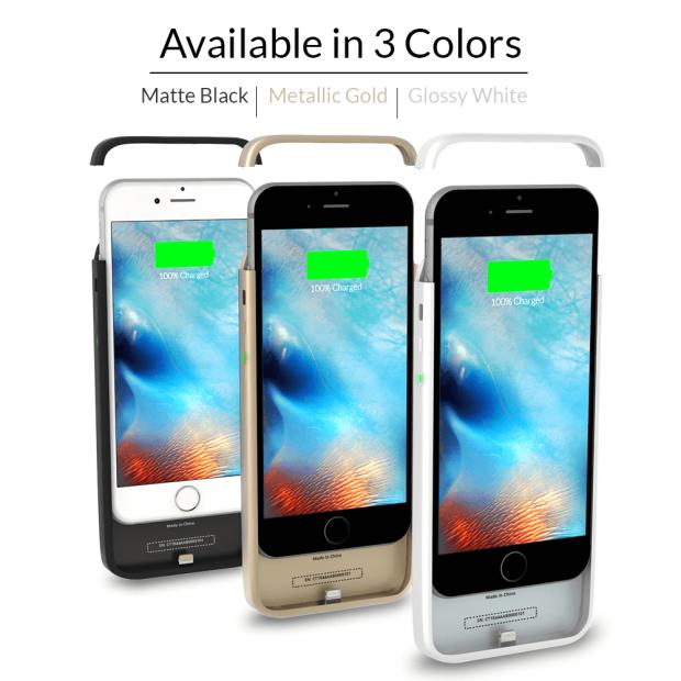 全球最薄 iPhone 7 / 7Plus 充電殻ThinCharge