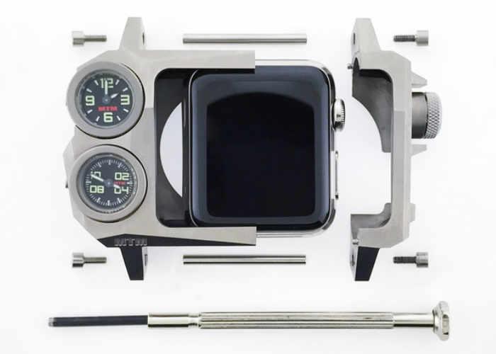 極限運動用家至於  Apple Watch 最強機殻 MTM Status 眾籌