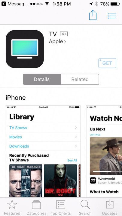 Apple TV app 現身 App Store  暗示 iOS 10.2 正式版來臨?