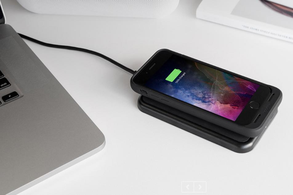 iPhone 7 / 7 Plus 無線充電有法  mophie juice pack air 當埋尿袋用