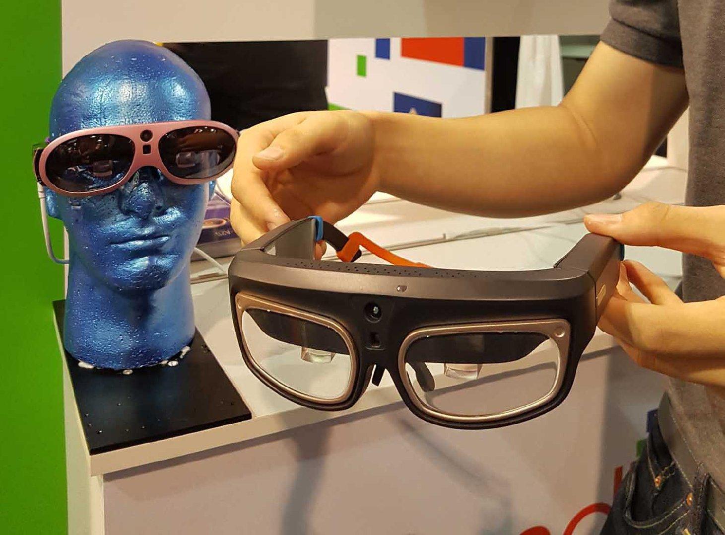 玩 AR 都要型! ESpaceTime AR 智能眼鏡四月開賣