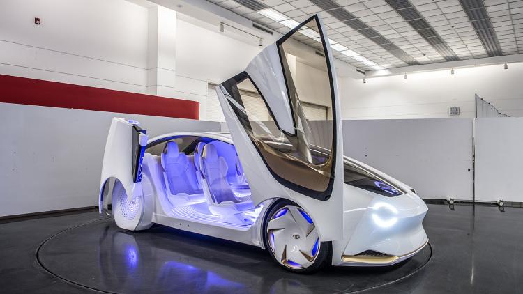 〔 CES 2017 〕Toyota 概念車 Concept-I  高智能方程式真實版?