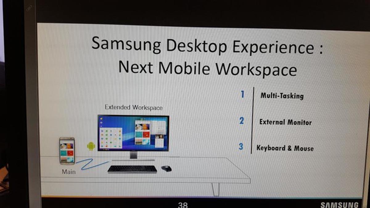 手機變電腦? Samsung Galaxy S8 或可駁電視輸出電腦介面