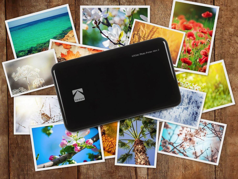 相片防水防指紋兼防塵  KODAK Mini2 PM220 無線藍牙相片打印機