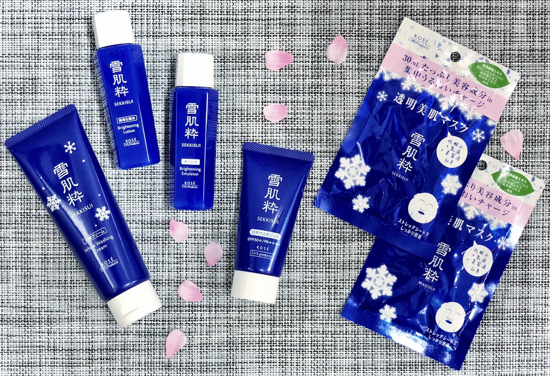 日本 7-Eleven 與 KOSÉ 共同開發品牌 「 雪肌粋 」護膚系列完美防曬露
