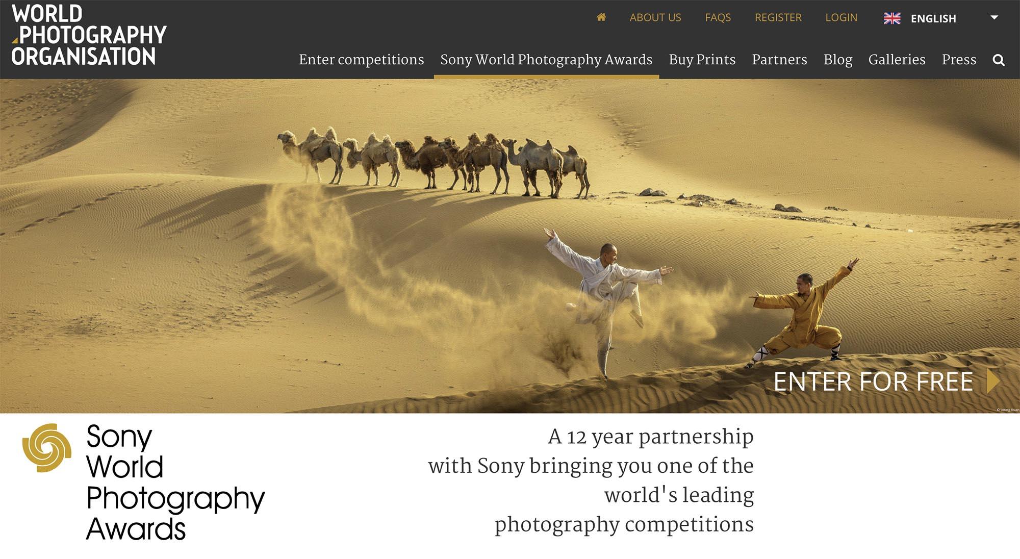 Sony 世界攝影大獎 2019 開始接受報名  新增紀實、主題及創意攝影組別